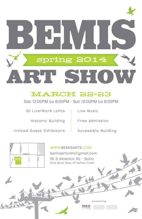Bemis Arts Spring Show, Seattle WA